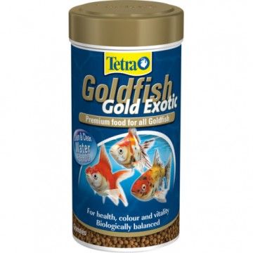 Корм для рыб Tetra Goldfish Gold Exotic 250мл шарики